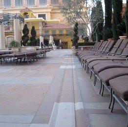 EMSEAL SJS Expansion Joints in Venetian Pool Deck