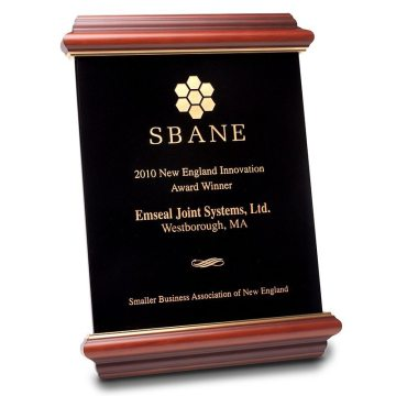 Fire rated wall and floor expansion joint SBANE innovation award for Emshield