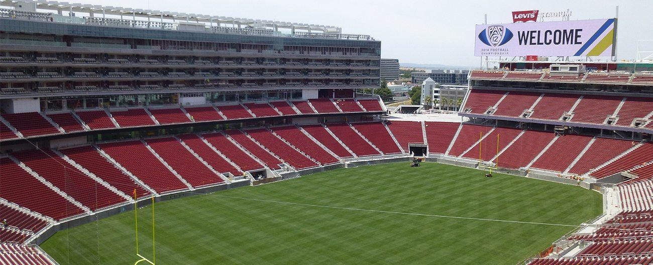 Expansion joints 49ers Levis Stadium EMSEAL SJS SJS-FR Seismic Colorseal