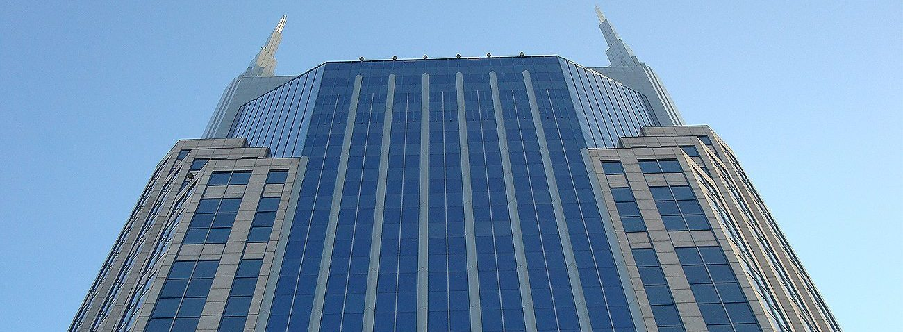 TN ATT Building Nashville Seismic Colorseal Vertical Exterior Expansion Joints EMSEAL