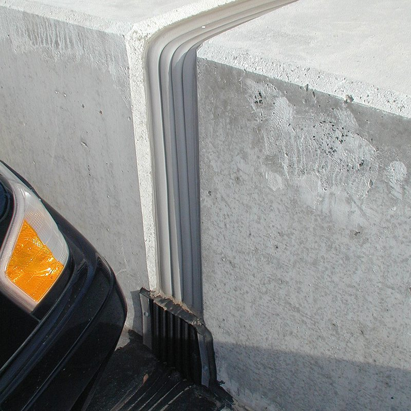 Caulking Concrete Walls : Concrete wall expansion joint material