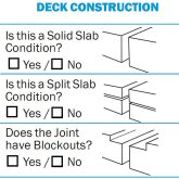 Expansion Joint Checklist from EMSEAL