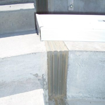 EMSEAL Colorseal Expansion Joint Kinnick Stadium University of Iowa
