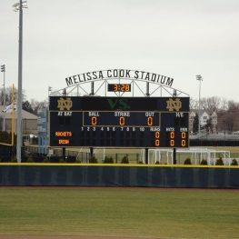 EMSEAL's DSM System installed at Melissa Cook Softball Stadium.