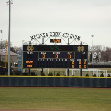 EMSEAL's DSM System installed at Melissa Cook Softball Stadium.