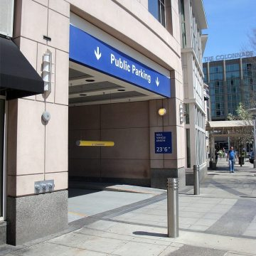 Unobtrusive, Quiet, Watertight, Trafficable Coverplate with No Invasive Anchors– SJS SYSTEM at Boston Prudential Center Parking Entrance
