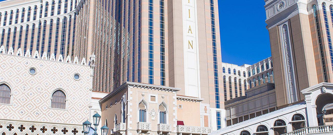 Seismic expansion joints Venetian Las Vegas Emseal