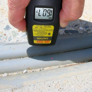 DSM System in parking expansion joint hot 160F EMSEAL