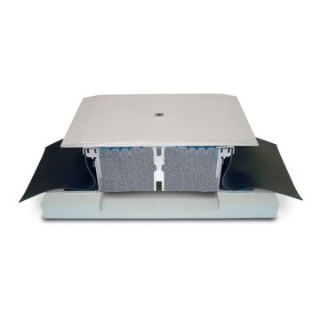 EMSEAL SJS-FP watertight seismic plaza deck or split slab expansion joint