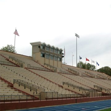 Thermaflex installed at Lawrence Stadium.