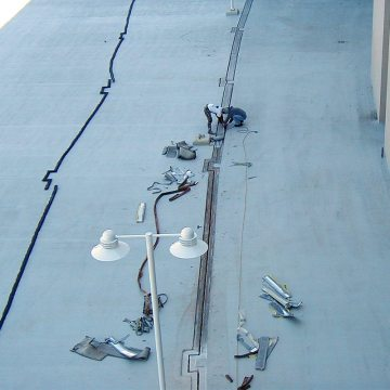 Stadium Expansion Joints Washington Redskins Thermaflex handles multiple changes in direction