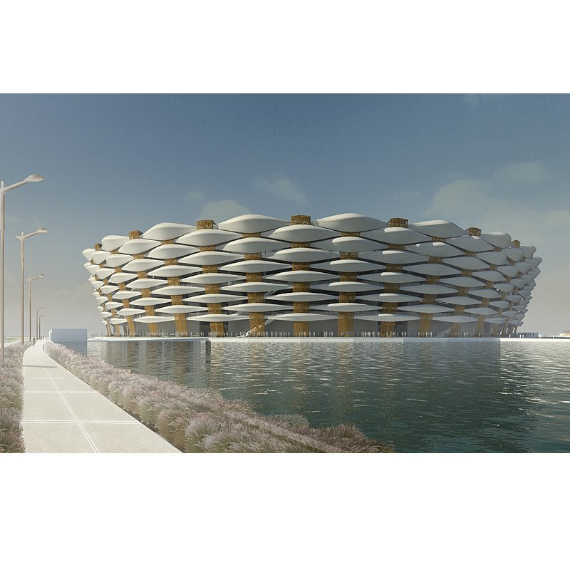 Basra sports city soccer stadium iraq · emseal