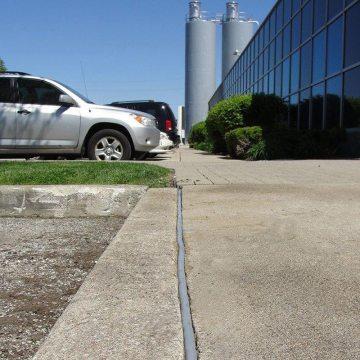 Colorseal-On-A-Reel sidewalk joint sealant retrofit EMSEAL