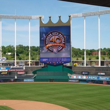 EMSEAL Colorseal Expansion Joint at Kansas City Royals Stadium