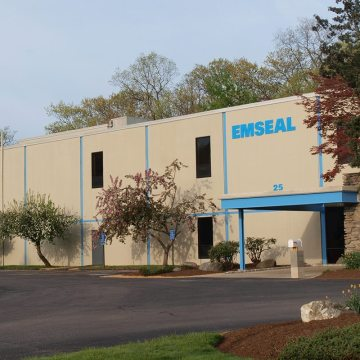 EMSEAL structural expansion joints and precompressed sealants headquarters Westborough MA