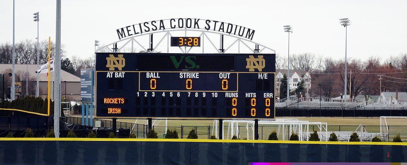 IN Notre Dame Melissa Cook Stadium EMSEAL stadium expansion joints