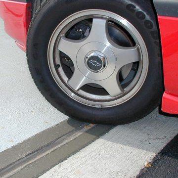 Thermaflex installed in Zurich Insurance Parking Garage.