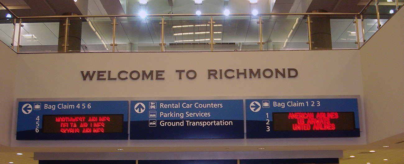 VA Richmond International Aiport EMSEAL airport expansion joints