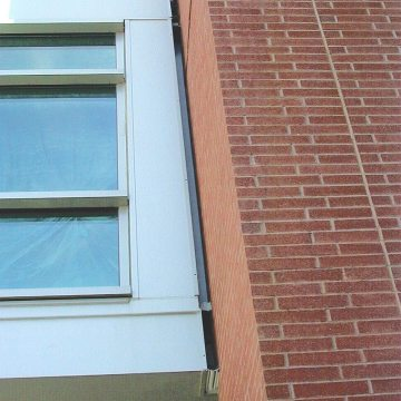 EMSEAL's Colorseal installed in Wyeth Labs Life Sciences Building.
