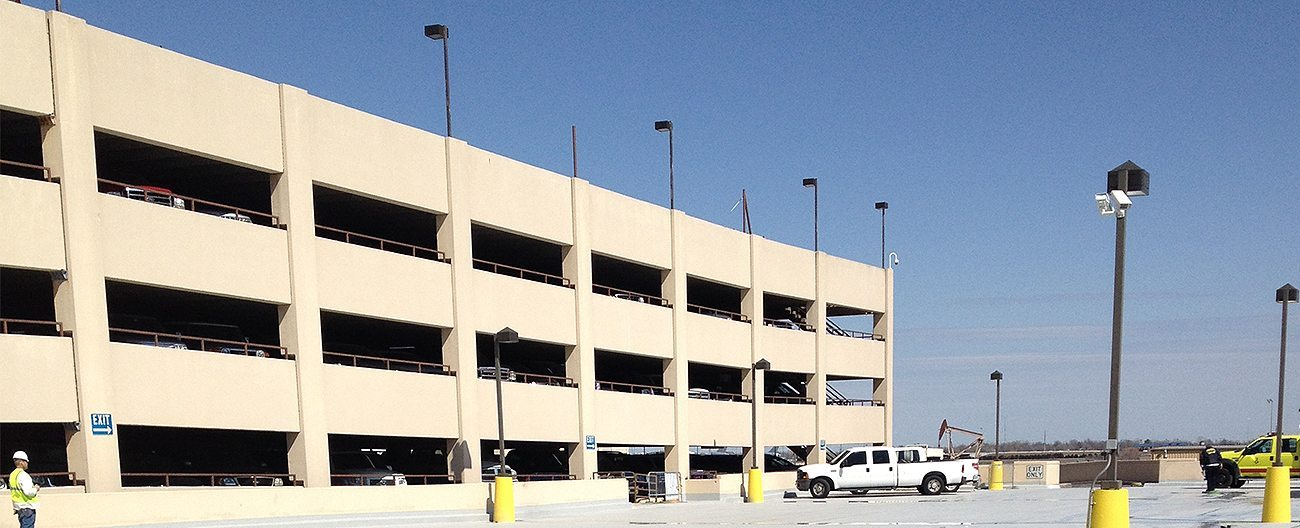 OK Will Rogers Airport Parking Expansion Joints DSM System
