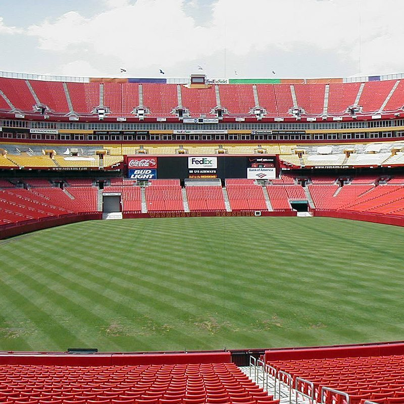 Redskins New Stadium: Stadium Expansion Joints Washington Redskins, FedEx Field