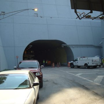 EMSEAL's DSM-DS installed in Wheeling Tunnel West Virginia.