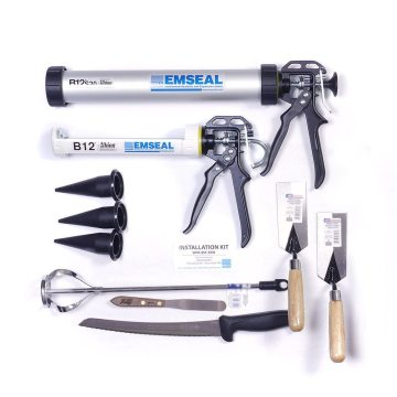 EMSEAL SSF/SSW/WFR2/WFR3 SecuritySeal and Fire-Rated Wall Expansion Joint Systems Installation Kit