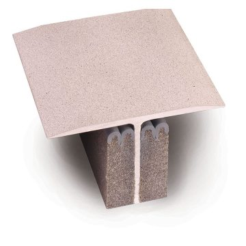 QuickCover expansion joint cover with packaging removed-EMSEAL