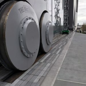 Emseal Seismic Expansion Joint System Hudson Yards Shedd Wheels