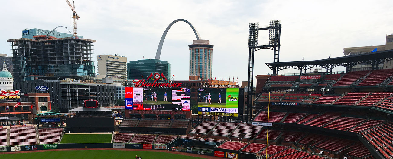 Stadium Expansion Joints at St. Louis Cardinals Busch Stadium by Emseal