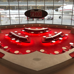 Lounge at TWA Hotel - Expansion Joints by Emseal
