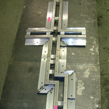 Plaza expansion joint transition in Migutan FP system from Emseal
