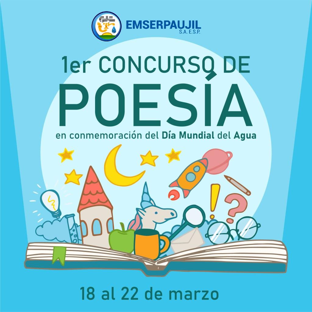 Primer Concurso de Poesía conmemoración Dpia Mundial del Agua