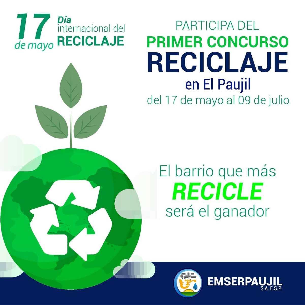 Primer concurso de Reciclaje en El Paujil Caquetá