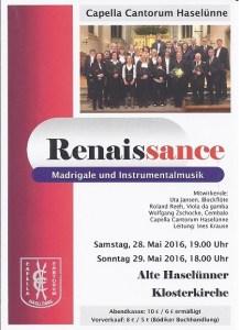 Konzert capella Cantorum Haselünne
