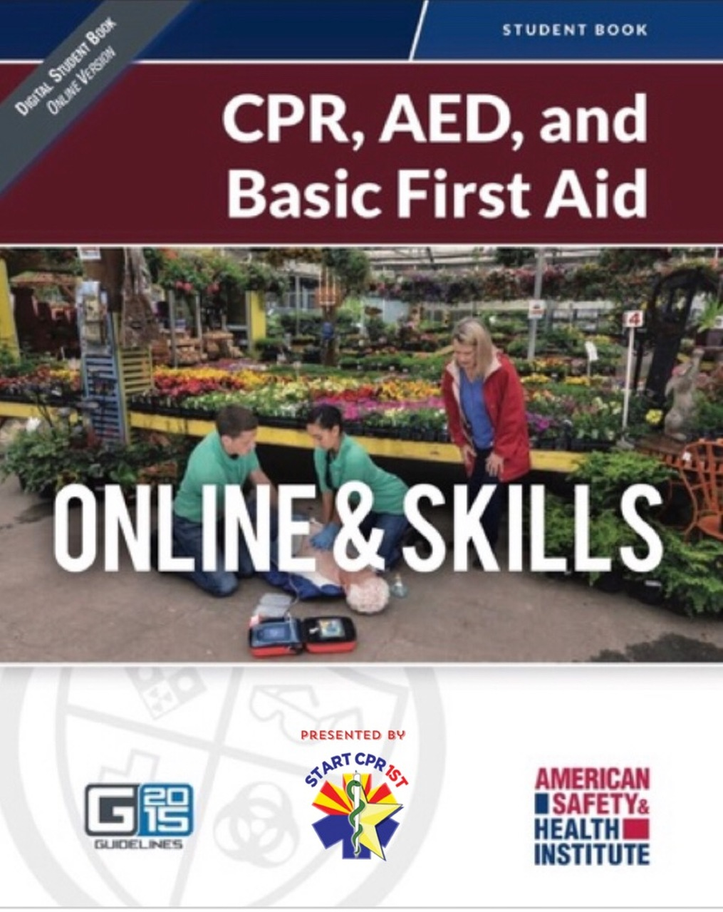 ASHI CPR/AED/First Aid