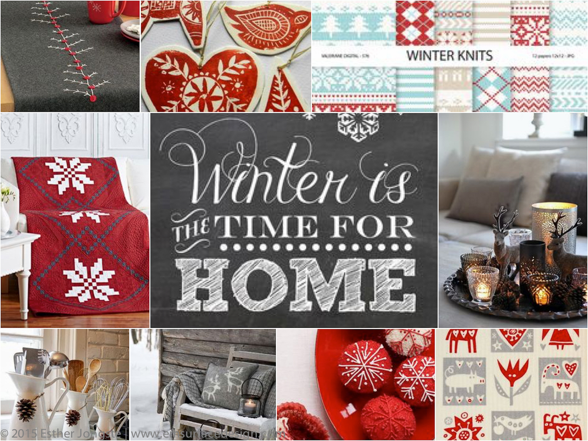 pins in the picture: nordic christmas