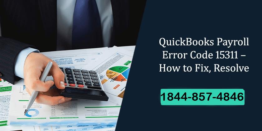 QuickBooks Error 15311