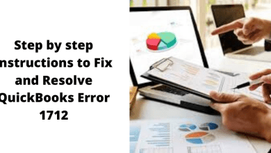 Photo of Step by step instructions to Fix and Resolve QuickBooks Error 1712