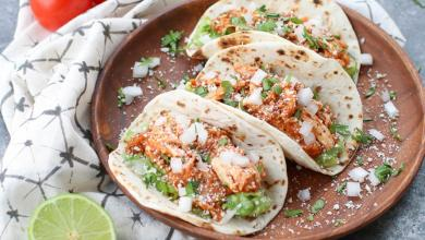 Photo of The amazing delectable Chicken Tinga Tacos – Order Online