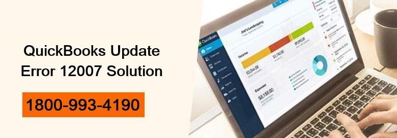 How to Fix QuickBooks Update Error 12007 with latest Methods 1