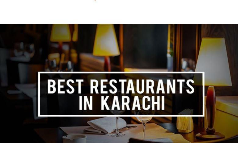 best restaurants to dine-in in Karachi