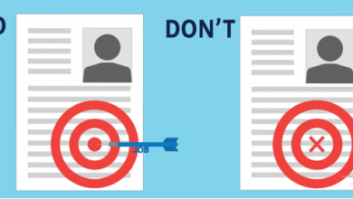 Photo of Dos and don'ts for a CV