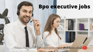 Photo of BPO executive jobs for fresher in Bhubaneswar