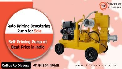 Photo of Best Auto Priming Dewatering Pump Supplier – TFTPumps.com