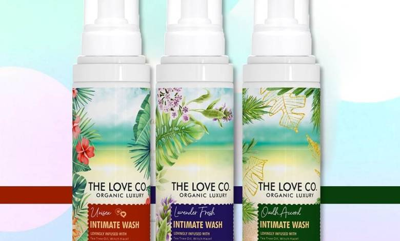 Best Organic Oudh Accord Intimate Wash - The Love Co