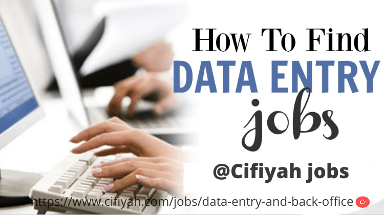 Online data entry working from home -Cifiyah.com