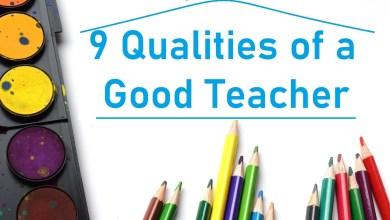 Photo of 9 qualities of a good teacher