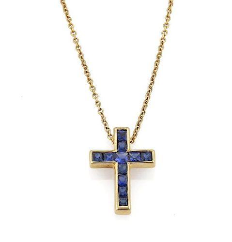 Tiffany Cross Necklace