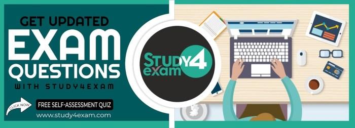 Study4Exam Best exam preparation material
